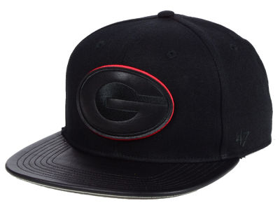 Georgia Bulldogs '47 NCAA Black Shot Clock CAPTAIN Cap