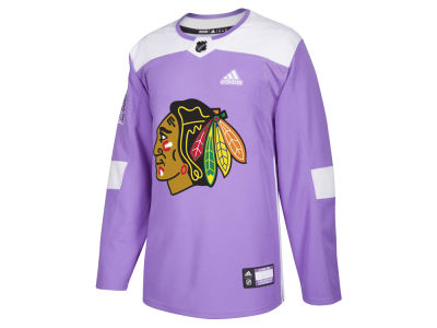 Chicago Blackhawks adidas NHL Men's Authentic Hockey Fights Cancer Jersey