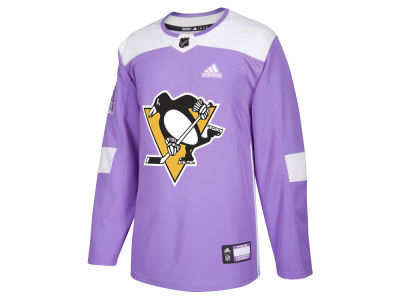 Pittsburgh Penguins adidas NHL Men's Authentic Hockey Fights Cancer Jersey