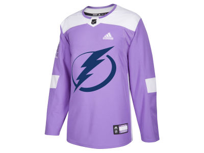 Tampa Bay Lightning adidas NHL Men's Authentic Hockey Fights Cancer Jersey