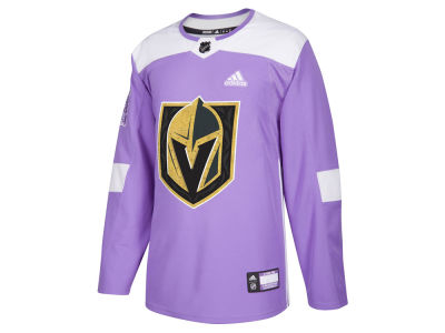 Vegas Golden Knights adidas NHL Men's Authentic Hockey Fights Cancer Jersey