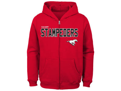 Calgary Stampeders adidas CFL Youth Stated Hoodie