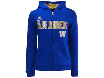 Winnipeg Blue Bombers adidas CFL Youth Stated Hoodie