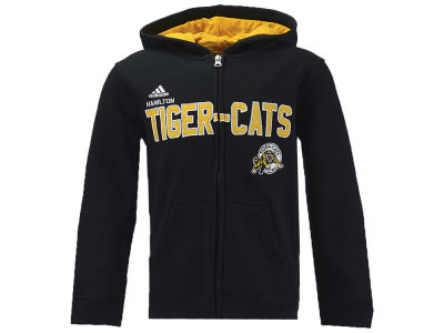 Hamilton Tiger-Cats adidas CFL Kids Stated Hoodie