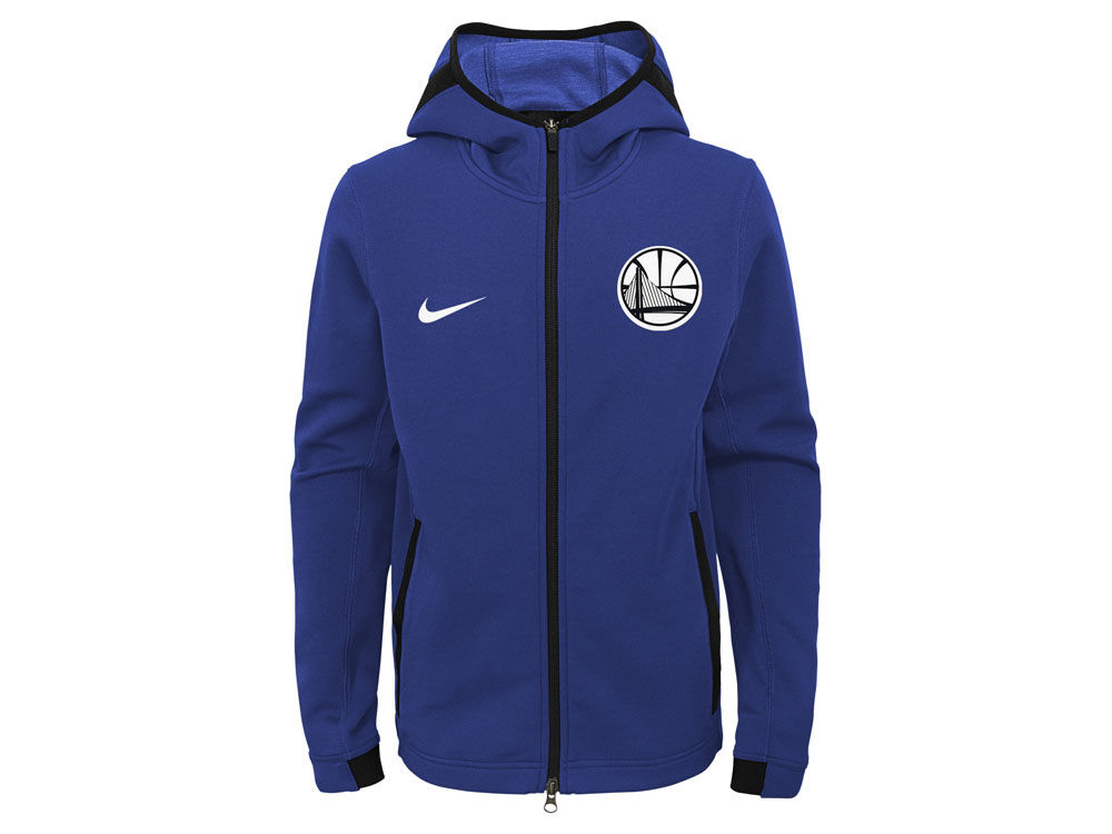 Golden State Warriors Nike NBA Youth Showtime Hooded Jacket  939504f30