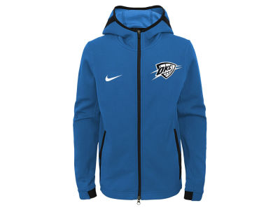 Oklahoma City Thunder Nike NBA Youth Showtime Hooded Jacket