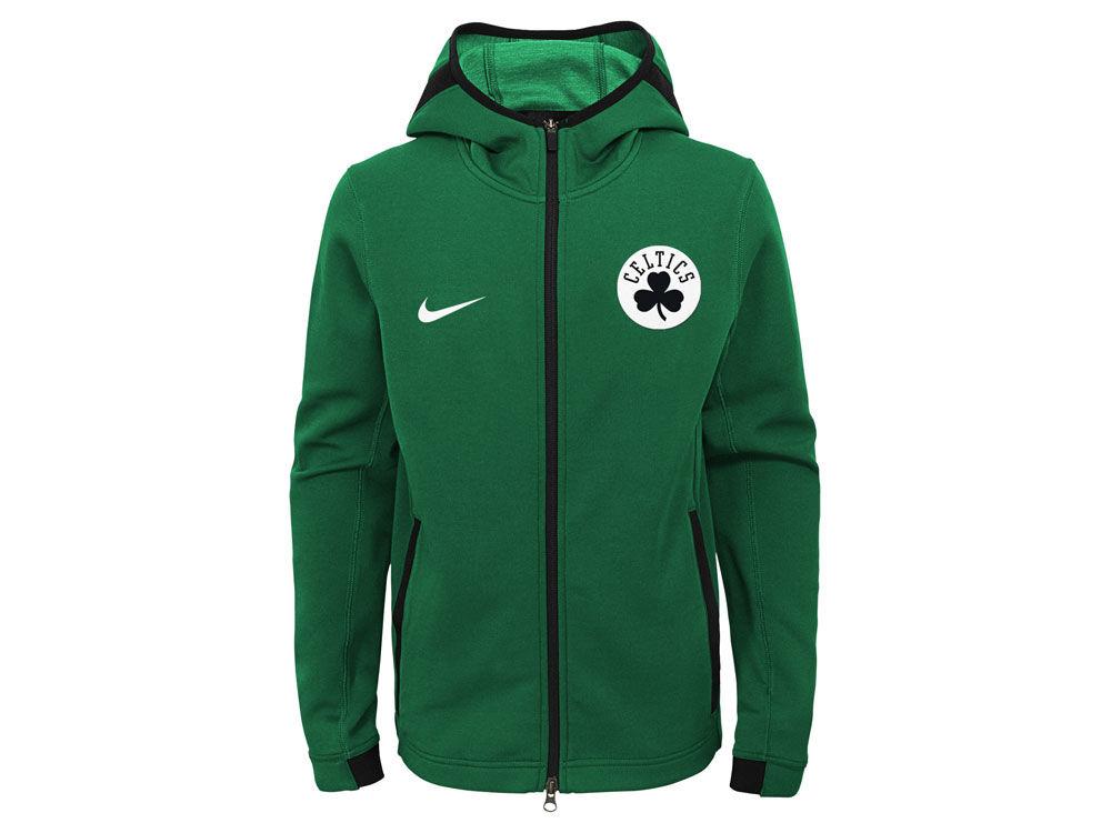 Boston Celtics Nike NBA Youth Showtime Hooded Jacket  aeff2f765408