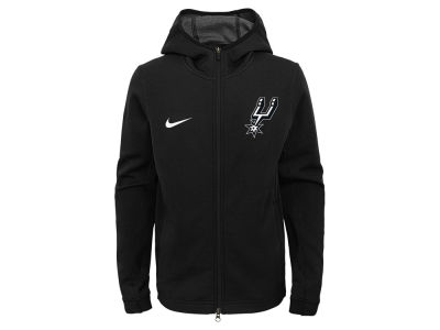 San Antonio Spurs Nike NBA Youth Showtime Hooded Jacket