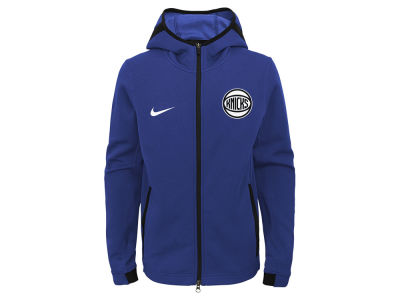 New York Knicks Nike NBA Youth Showtime Hooded Jacket