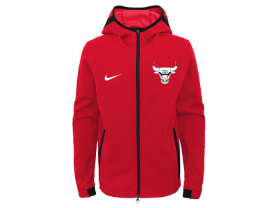Chicago Bulls Nike NBA Youth Showtime Hooded Jacket