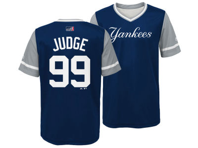 New York Yankees Aaron Judge Majestic MLB Youth Players Weekend Jersey