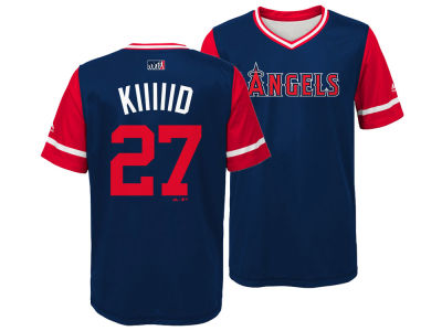 Los Angeles Angels Mike Trout Majestic MLB Youth Players Weekend Jersey