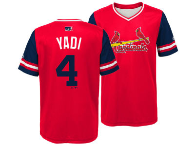 St. Louis Cardinals Yadier Molina Majestic MLB Youth Players Weekend Jersey
