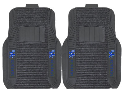 Kentucky Wildcats Fan Mats 2 Piece Deluxe Car Mat Set