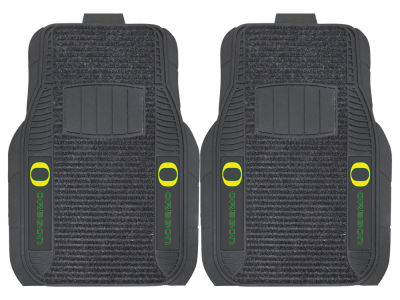 Oregon Ducks Fan Mats 2 Piece Deluxe Car Mat Set