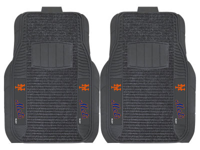New York Mets Fan Mats 2 Piece Deluxe Car Mat Set