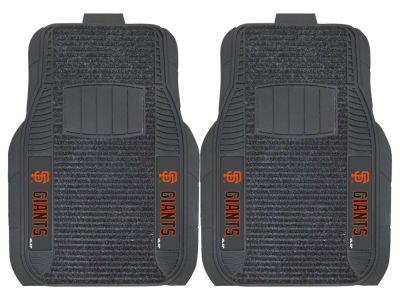San Francisco Giants Fan Mats 2 Piece Deluxe Car Mat Set