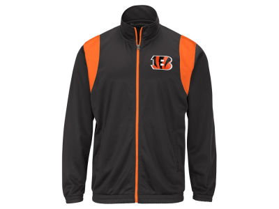 Cincinnati Bengals G-III Sports NFL Men's Clutch Time Track Jacket