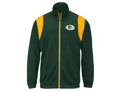 Green Bay Packers G-III Sports NFL Men's Clutch Time Track Jacket