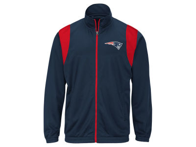 New England Patriots G-III Sports NFL Men's Clutch Time Track Jacket