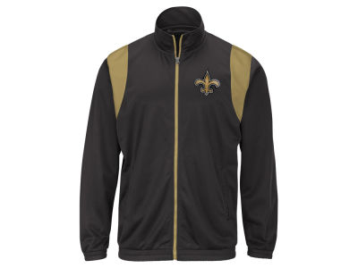 New Orleans Saints G-III Sports NFL Men's Clutch Time Track Jacket