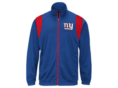 New York Giants G-III Sports NFL Men's Clutch Time Track Jacket