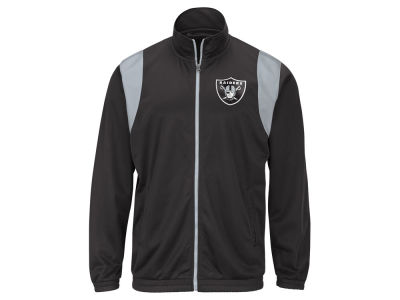 Oakland Raiders G-III Sports NFL Men's Clutch Time Track Jacket