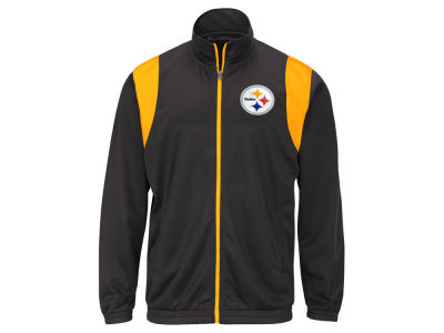Pittsburgh Steelers G-III Sports NFL Men's Clutch Time Track Jacket