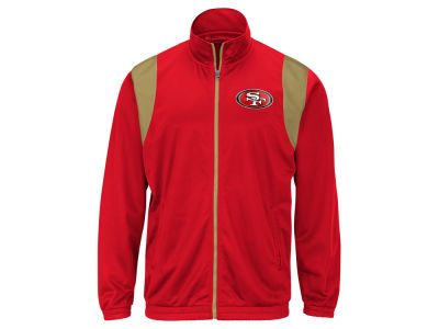 San Francisco 49ers G-III Sports NFL Men's Clutch Time Track Jacket