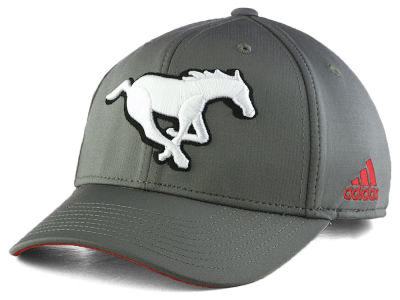Calgary Stampeders adidas CFL Grey Adjustable Cap