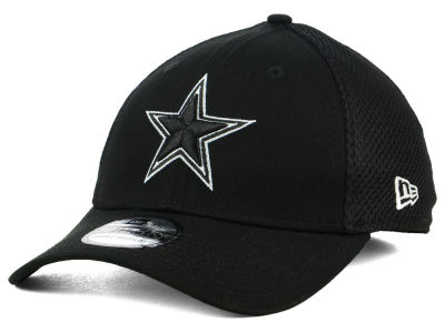 Dallas Cowboys New Era NFL Black & White Neo 39THIRTY Cap