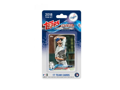 Los Angeles Dodgers 2018 Team Card Set