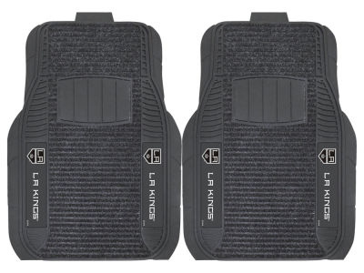 Los Angeles Kings Fan Mats 2 Piece Deluxe Car Mat Set