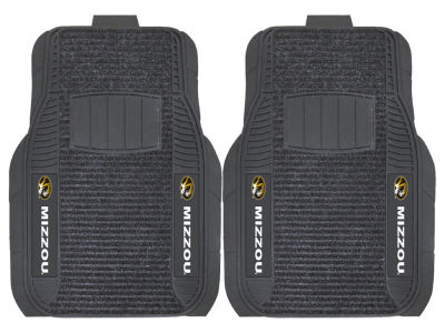 Missouri Tigers Fan Mats 2 Piece Deluxe Car Mat Set