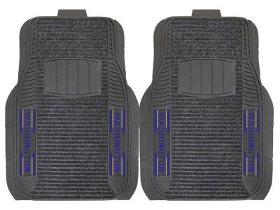 Washington Huskies Fan Mats 2 Piece Deluxe Car Mat Set