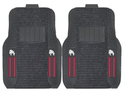 Washington State Cougars Fan Mats 2 Piece Deluxe Car Mat Set