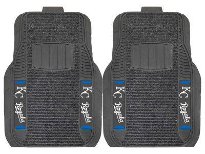 Kansas City Royals Fan Mats 2 Piece Deluxe Car Mat Set