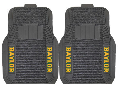 Baylor Bears Fan Mats 2 Piece Deluxe Car Mat Set