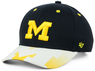 Michigan Wolverines '47 NCAA Youth Screen MVP Cap