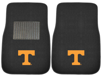 Tennessee Volunteers Fan Mats 2-Piece Embroidered Car Mat Set