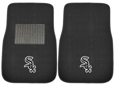 Chicago White Sox Fan Mats 2-Piece Embroidered Car Mat Set