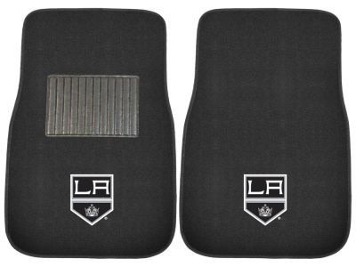 Los Angeles Kings Fan Mats 2-Piece Embroidered Car Mat Set