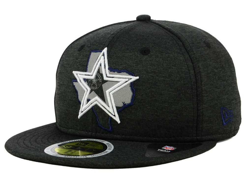 021e04faa Dallas Cowboys New Era NFL State Flective 59FIFTY Cap