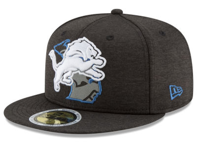 Detroit Lions New Era NFL State Flective 59FIFTY Cap
