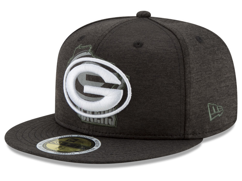 94f415e2ae4 Green Bay Packers New Era NFL State Flective 59FIFTY Cap