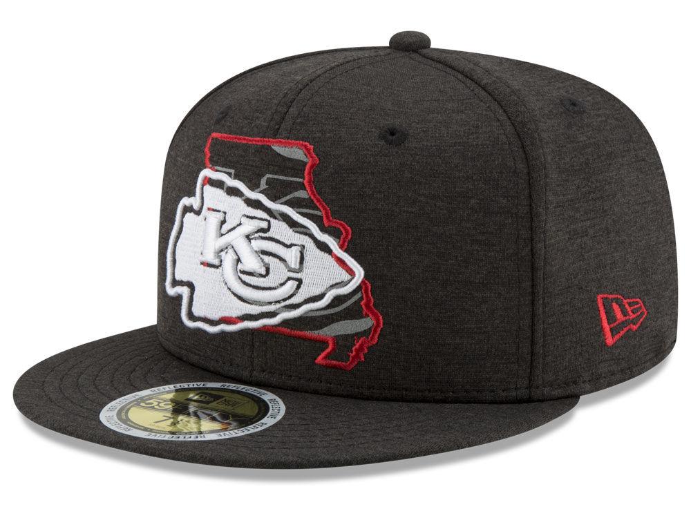 9cbde94bf1d Kansas City Chiefs New Era NFL State Flective 59FIFTY Cap