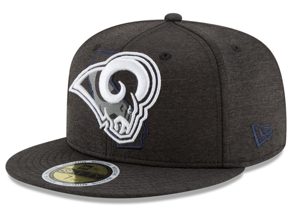 Los Angeles Rams New Era NFL State Flective 59FIFTY Cap  861b211cf