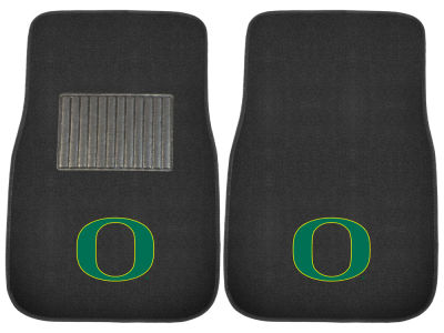 Oregon Ducks Fan Mats 2-Piece Embroidered Car Mat Set