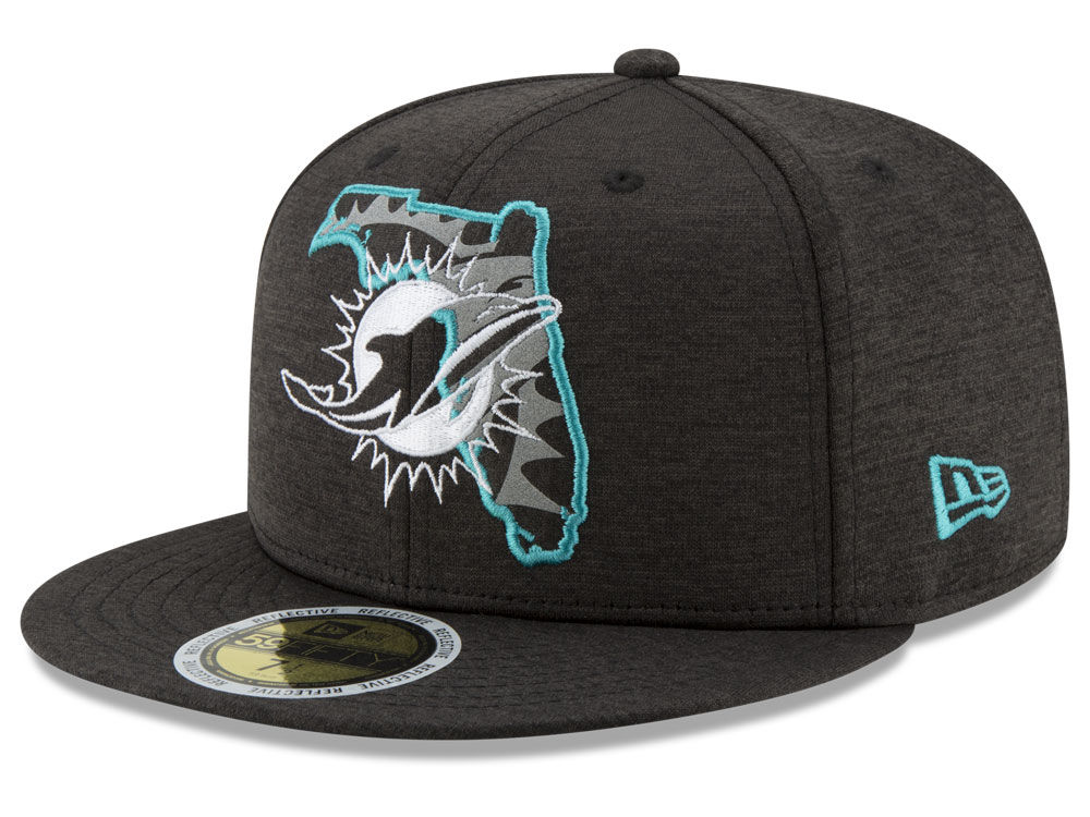 Miami Dolphins New Era NFL State Flective 59FIFTY Cap  560d43abe89