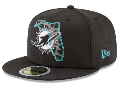 Miami Dolphins New Era NFL State Flective 59FIFTY Cap